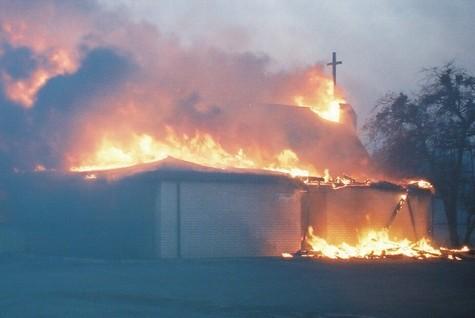 Cross Plains Church Wildfire